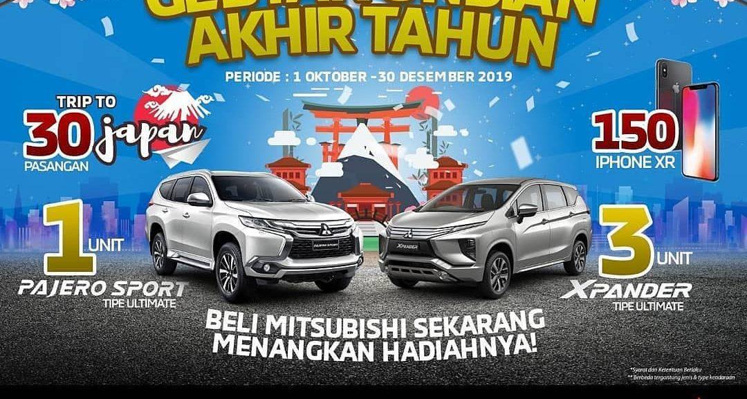 Gebyar Undian Akhir Tahun Mitsubishi